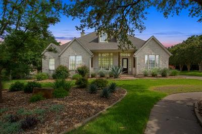 Hays County, Travis County, Williamson County Single Family Home Pending - Taking Backups: 1104 Cool Lake Cv