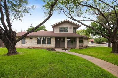 Round Rock Single Family Home Pending - Taking Backups: 1718 Creek Bend Cir