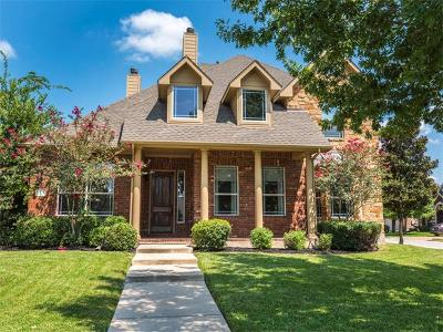 Round Rock Single Family Home For Sale: 1308 Ridgefield Loop