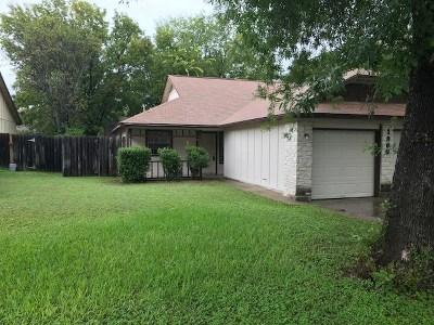 Austin Rental For Rent: 1900 Prairie Knoll Ct #B