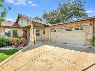 Bee Cave Single Family Home Pending - Taking Backups: 14501 Falcon Head Blvd #18