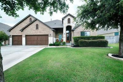 Leander Single Family Home For Sale: 2616 Champions Corner Dr