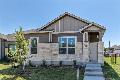Round Rock Single Family Home For Sale: 2800 Joe Dimaggio Blvd #57