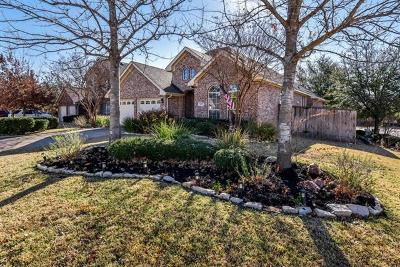 Round Rock Single Family Home For Sale: 815 Fork Ridge Path