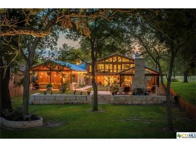 New Braunfels Single Family Home For Sale: 1431 E Zipp Rd