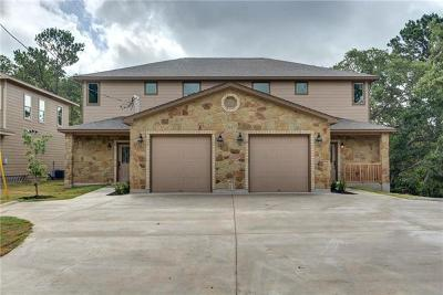 Bastrop Multi Family Home For Sale: 111 S Kanaio Dr