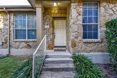 Round Rock Condo/Townhouse Active Contingent: 16100 S Great Oaks Dr #203