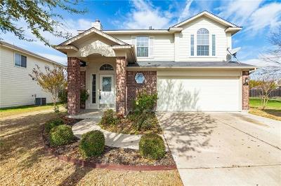 Round Rock Single Family Home For Sale: 1324 Anna Palm Way