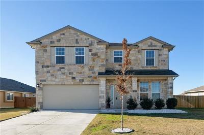 Hutto Single Family Home For Sale: 129 Sabine River Dr