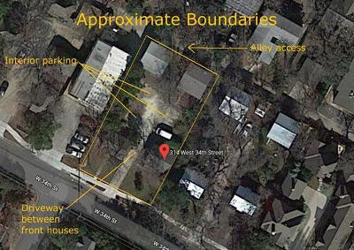 Residential Lots & Land For Sale: 314 & 316 W 34th St