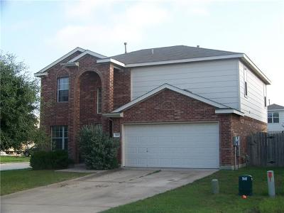 Pflugerville Single Family Home For Sale: 800 Tapestry Cv