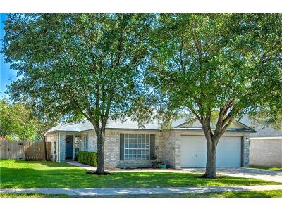 Round Rock Single Family Home For Sale: 1505 Van Horn Dr