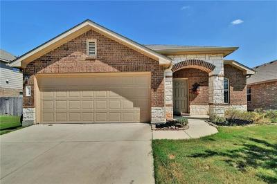 Leander Single Family Home For Sale: 124 Magpie Goose Ln