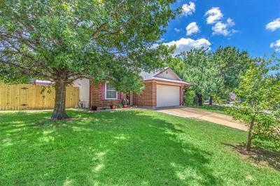 Pflugerville Single Family Home For Sale: 13815 Lothian Dr