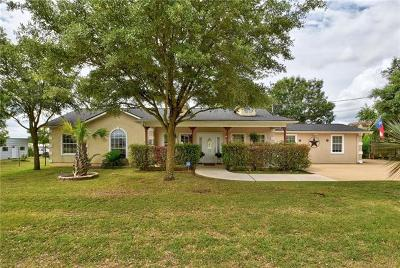 Buda Single Family Home For Sale: 139 Hy Rd
