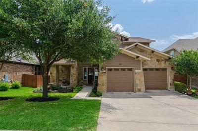 Cedar Park Single Family Home Pending - Taking Backups: 3113 Mill Stream Dr