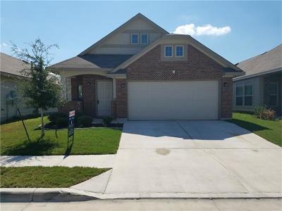 Austin Single Family Home For Sale: 15109 Walcott Dr