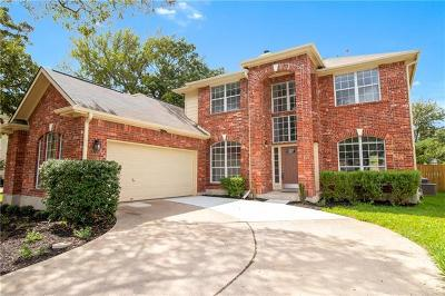 Round Rock Single Family Home For Sale: 3721 Galena Hills Loop
