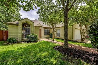 Cedar Park Single Family Home For Sale: 2907 Wren Cir