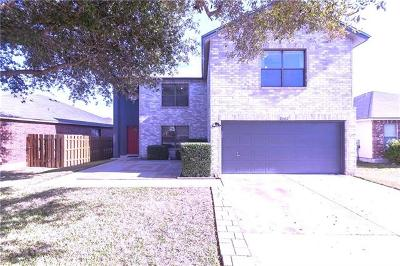 Cedar Park Single Family Home For Sale: 2602 Glen Field Dr