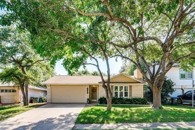 Travis County, Williamson County Single Family Home Pending - Taking Backups: 11636 Quarter Horse Trl