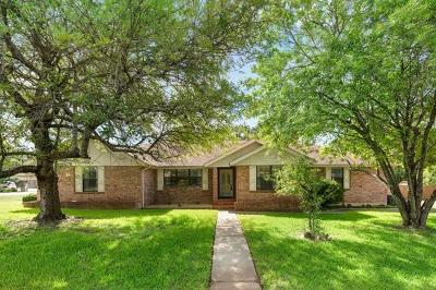 Round Rock Single Family Home For Sale: 4305 Deer Tract St