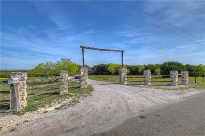 Burnet County Single Family Home For Sale: 4930 County Road 252