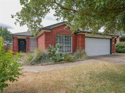 Cedar Park Single Family Home For Sale: 612 Cenizo Path