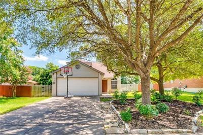 Cedar Park Single Family Home For Sale: 1010 Audra St