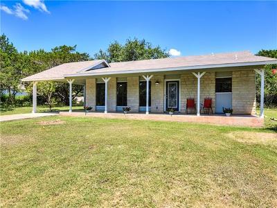 Jonestown Single Family Home For Sale: 18220 Sandy St