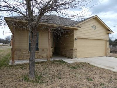 Bastrop Single Family Home Pending - Taking Backups: 348 Kahana Ln
