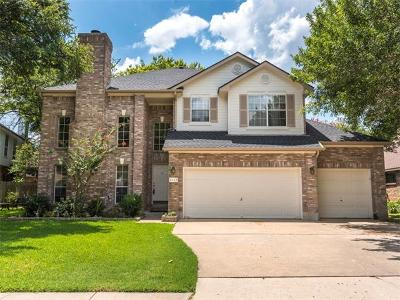 Round Rock Single Family Home For Sale: 2112 Mockingbird Dr