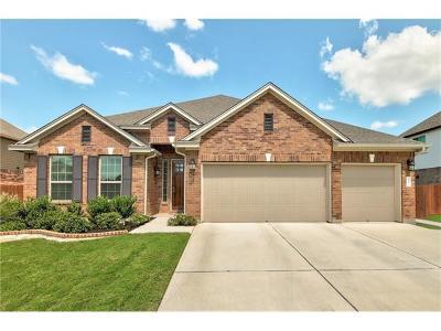 Cedar Park Single Family Home For Sale: 405 Clear Shadow Cv