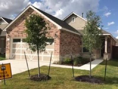 Hutto TX Single Family Home For Sale: $247,816