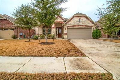 Cedar Park Single Family Home Pending - Taking Backups: 701 Williams Way