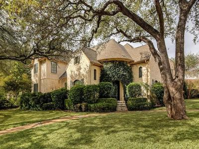 Austin TX Single Family Home For Sale: $1,650,000