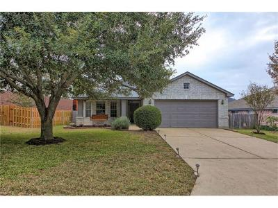 Leander Single Family Home For Sale: 1006 Woodview Dr