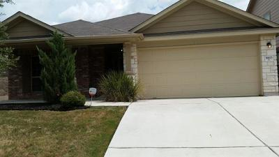 Pflugerville Single Family Home For Sale: 18613 Willie Dr