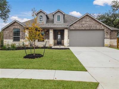 Round Rock Single Family Home For Sale: 4344 Hannover Way