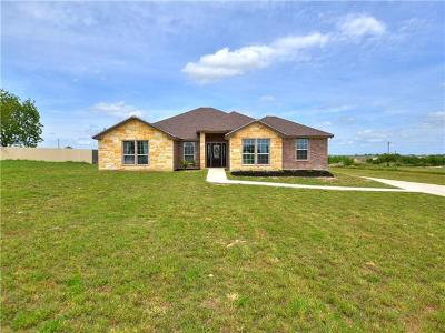 Jarrell TX Single Family Home Pending - Taking Backups: $309,500
