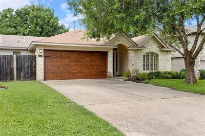 Single Family Home Active Contingent: 5806 Blanco River Pass