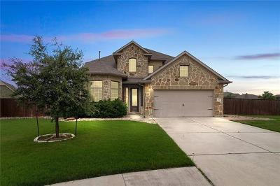 Liberty Hill Single Family Home For Sale: 113 Orvieto Cv