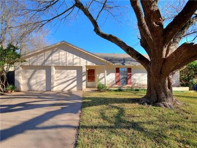 Travis County Single Family Home Pending - Taking Backups: 4700 Wind River Rd