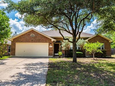 Round Rock Single Family Home For Sale: 1804 White Indigo Trl