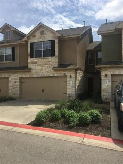 Cedar Park Condo/Townhouse For Sale: 700 Mandarin Flyway #403