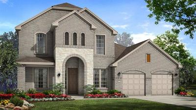 Round Rock Single Family Home For Sale: 2536 Palazzo Est