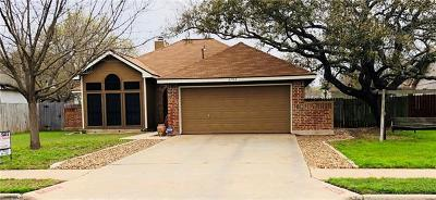 Leander Single Family Home For Sale: 2703 S Walker Dr