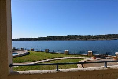 Lago Vista Condo/Townhouse For Sale: 3404 American Dr #2102
