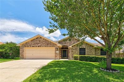 Round Rock Single Family Home For Sale: 1008 Ranier Cv