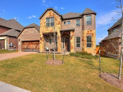 Round Rock Single Family Home For Sale: 704 Silver Trl